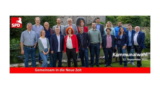 Kandidierende Kommunalwahl